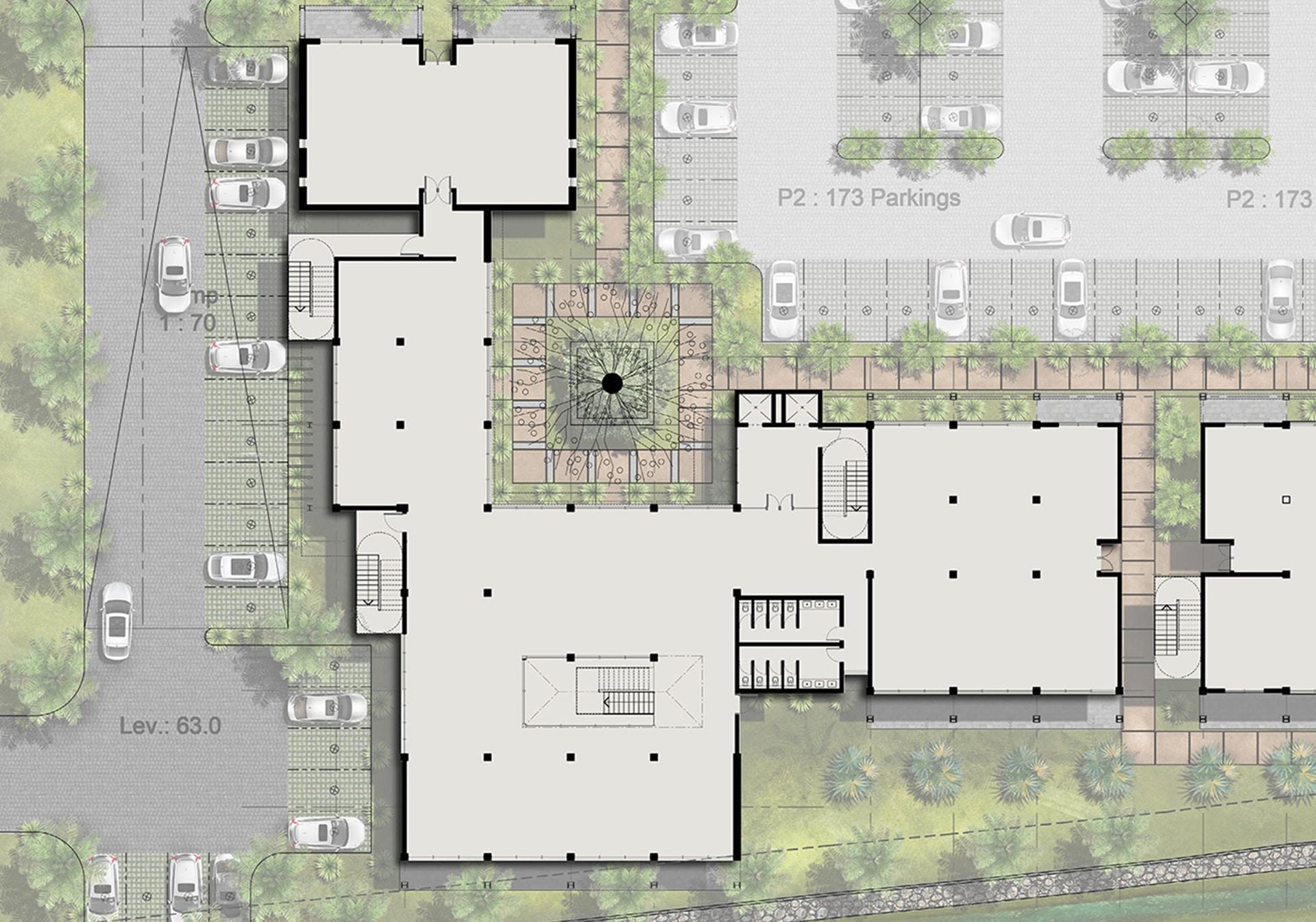 2nd floor - The Strand (Beau Plan)