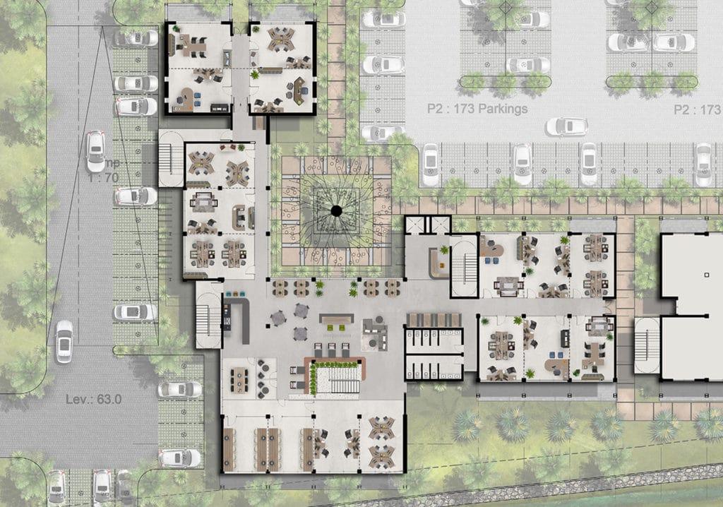 Ground Floor - The Strand (Beau Plan)